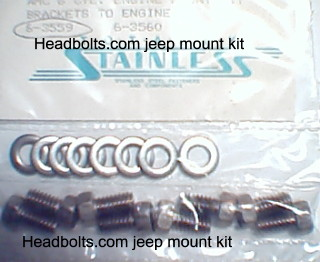 mount bolt kit (brackets to the engine)
