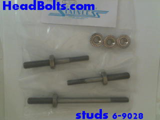 stainless water pump stud kit for 5.0 EFi engines 1994-95