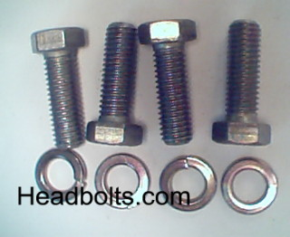 bell housing to transmission bolt kit for 3 and 4 speed manual transmission
