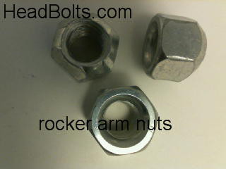 Rocker arm locking nuts 3/8