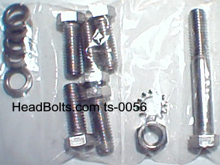 stainless steel bellhousing bolt kit for 1949-53 flat head
