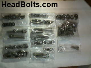 accessory fastener kit stainless SB chevy