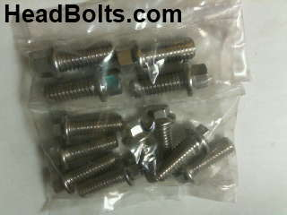 Exhaust bolt 48-53 headers flat head ford