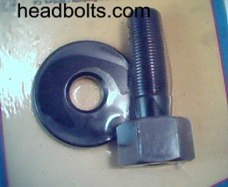 Harmonic balancer square drive balancer bolt and washer