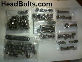 hardware kit stainless bb chevy