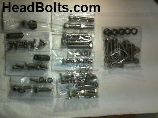 hardware kit stainless sb chevy