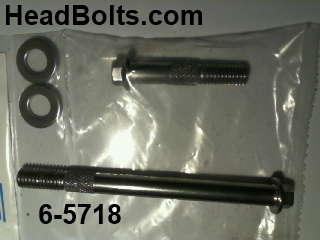 stainless Starter bolt kit for Cadillac v8 435-472-500